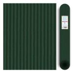Carton ondulé média 300g - Vert bouteille - 70 x 50 cm