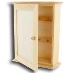 Armoire pour clés en bois 25 cm