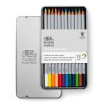 Crayon de couleur Studio Boîte métal de 12