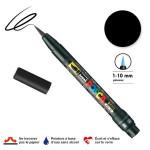 Marqueur  PCF-350 pointe pinceau - Noir