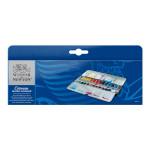 Aquarelle fine Cotman 24 demi-godets Boite Painting Plus