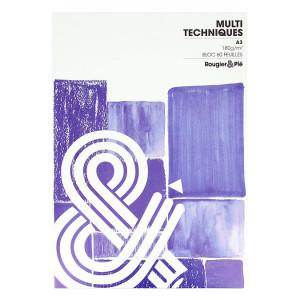 Bloc multi-techniques 180 g/m² 60 feuilles A3