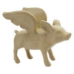 Cochon volant 21 x 52 x 22 cm