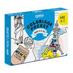 Coffret coloriage pocket Mini atlas