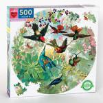 Puzzle rond Colibris 500 pièces