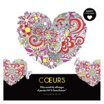 Carnet Happy coloriage Cœurs