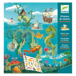 Stickers Les aventures en mer