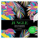 Bloc de coloriage Black Premium Jungle